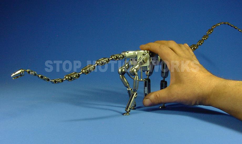 Chop Shop Re-work of Apatosaurus Armature (again) | Stop ...